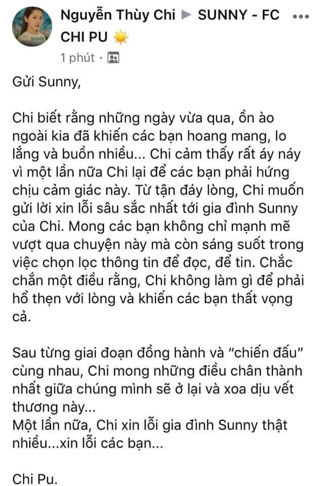Chi Pu khẳng định không làm gì hổ thẹn giữa tin đồn bị Quỳnh Anh Shyn cạch mặt-1