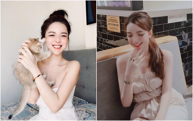 Tình cờ phát hiện Khánh Hà - bồ thiếu gia Phan Hoàng giống hệt một gái xinh trên mạng-5