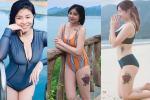 MC Hoàng Linh khoe ảnh diện bikini, dân mạng 'like' mệt nghỉ vì body quá nuột