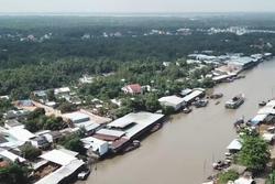 Cảnh sắc bình yên đẹp nao lòng ở xứ dừa Việt Nam