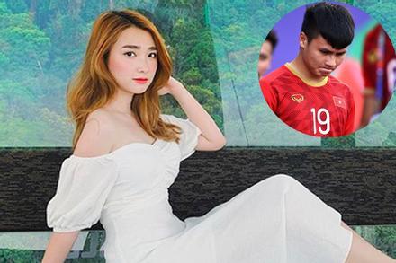 Tình cũ thủ môn Bùi Tiến Dũng phát ngôn sốc, ủng hộ Quang Hải tán gái xinh bằng Mẹc