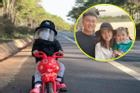 Phượt thủ nhí 'đu đưa' xe thỏ vượt hành trình 360 km khiến mọi người trầm trồ