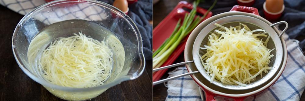 Đổi món cho bữa sáng với bánh khoai tây thơm ngon làm chỉ trong 4 bước đơn giản-1