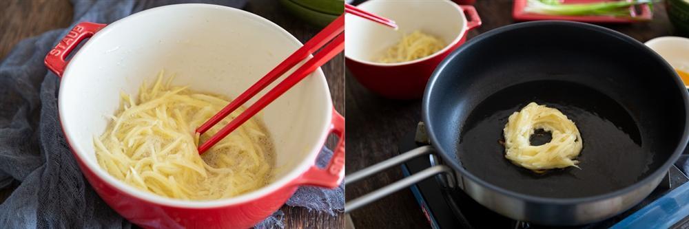 Đổi món cho bữa sáng với bánh khoai tây thơm ngon làm chỉ trong 4 bước đơn giản-3