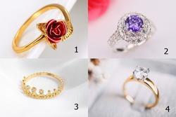 Chọn chiếc nhẫn thích nhất để biết khuyết điểm của bạn khi yêu là gì