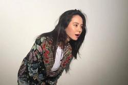 Nhan sắc cực phẩm của 'mợ ngố' Song Ji Hyo trong ảnh chưa chỉnh sửa