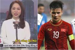 Nhà đài gây tranh cãi khi dẫn bản tin theo trend 'nhún nhảy Hồ Tây' của Quang Hải