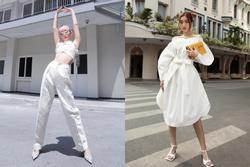 Đỗ Mỹ Linh, Tóc Tiên mặc váy áo trắng thế nào để trông sành điệu?