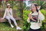 Trang phục gây 'nhức mắt' của Hoa hậu Kỳ Duyên: Hết xuyên thấu lộ nội y đến hình in nhạy cảm