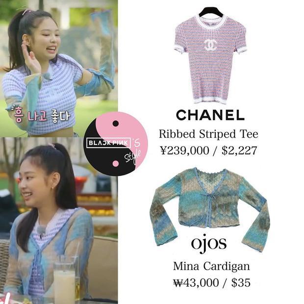 Bất ngờ chưa: Cùng diện áo bình dân, Jennie mix đồ kín bưng thua đẹp đàn chị Taeyeon ở khoản sexy-4