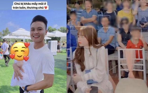 Không hay đăng ảnh Quang Hải nhưng Huỳnh Anh rất khéo thể hiện tình cảm với nhà trai-4