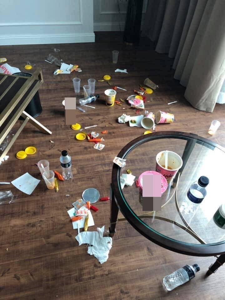Khiếp sợ những pha ở bẩn kinh hoàng của thượng đế khi thuê phòng khách sạn-4