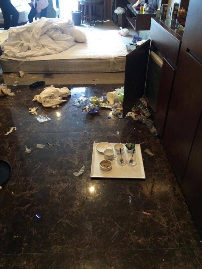 Khiếp sợ những pha ở bẩn kinh hoàng của thượng đế khi thuê phòng khách sạn-8