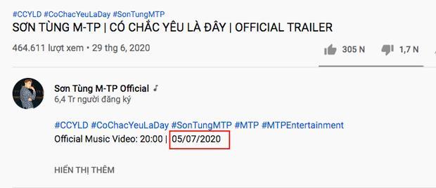 Góc bối rối: Sau 1 năm mới tung teaser comeback, Sơn Tùng M-TP run tay tới mức ghi sai cả ngày phát hành MV?-2