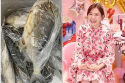 Hari Won được fan tặng hẳn lô cá tươi mừng sinh nhật