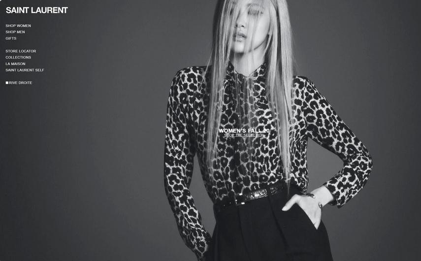 Rose đẹp thần sầu trong video quảng bá BST mới của Yves Saint Laurent-1