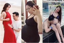 Hé lộ giới tính những cặp song thai chuẩn bị chào đời của showbiz Việt