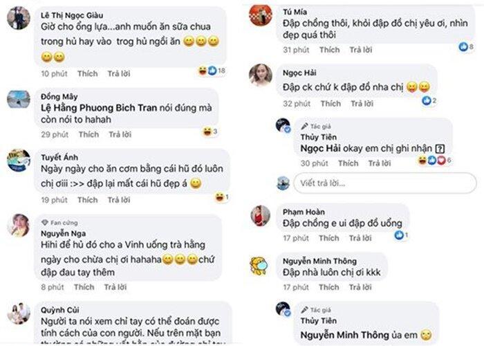 Thủy Tiên đòi đập đồ và đánh Công Vinh trên mạng xã hội-2