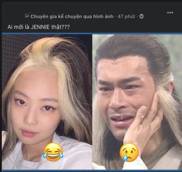 Jennie BlackPink bị nghi học đòi kiểu tóc đặc trưng của danh hài Hoài Linh-2
