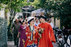 Bộ ảnh cưới cực độc đáo của cặp đôi Cao Bằng nhận 'bão like' chỉ sau 2 giờ đăng tải