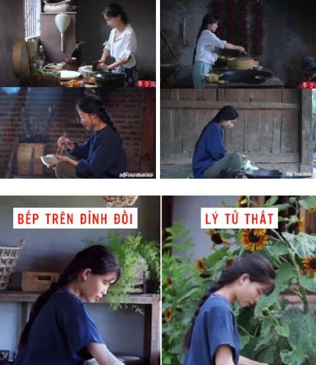 Giữa lùm xùm đạo nhái bị netizen Trung lên án, chủ nhân kênh Bếp Trên Đỉnh Đồi khóa tài khoản cá nhân-1