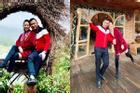 Vợ chồng Jennifer Phạm 'đu đưa' Đà Lạt, nhìn chẳng khác nào thuở mới yêu