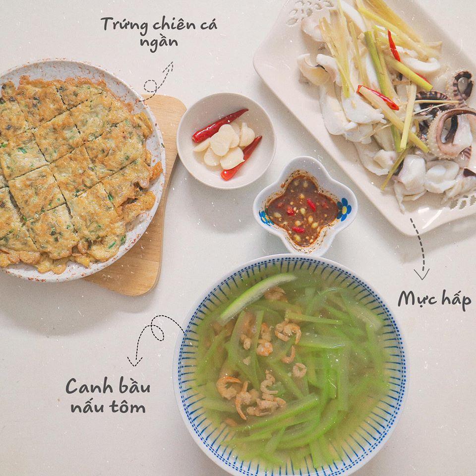 Mâm cơm mùa hè ăn mát ruột mát gan của 8X Hà Nội-3