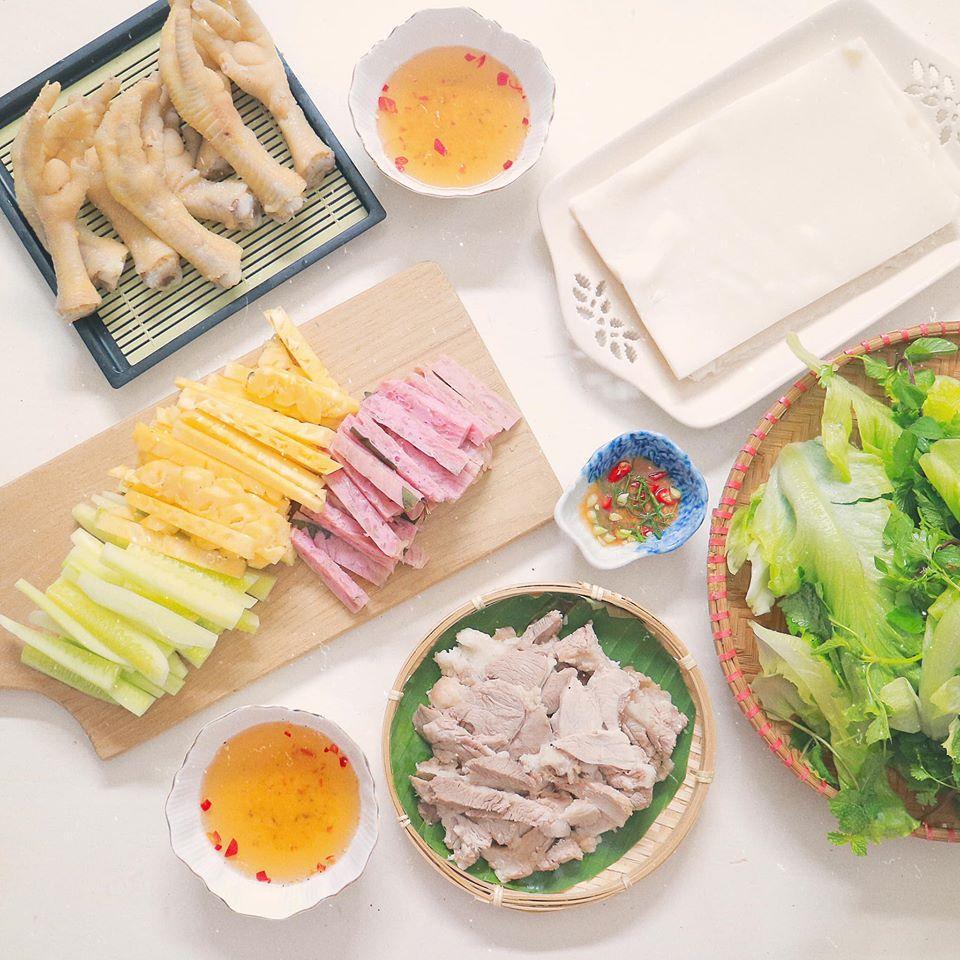 Mâm cơm mùa hè ăn mát ruột mát gan của 8X Hà Nội-4