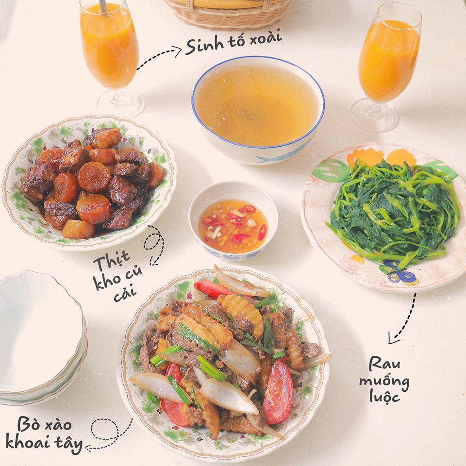 Mâm cơm mùa hè ăn mát ruột mát gan của 8X Hà Nội-5