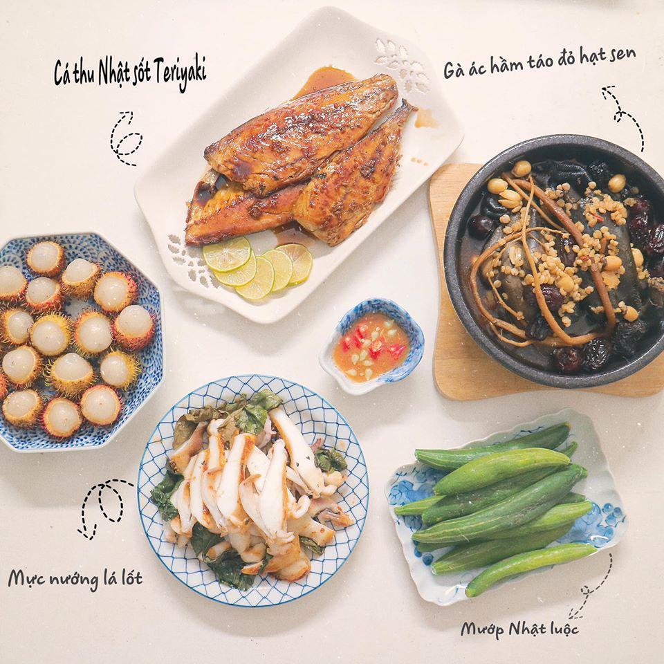 Mâm cơm mùa hè ăn mát ruột mát gan của 8X Hà Nội-7