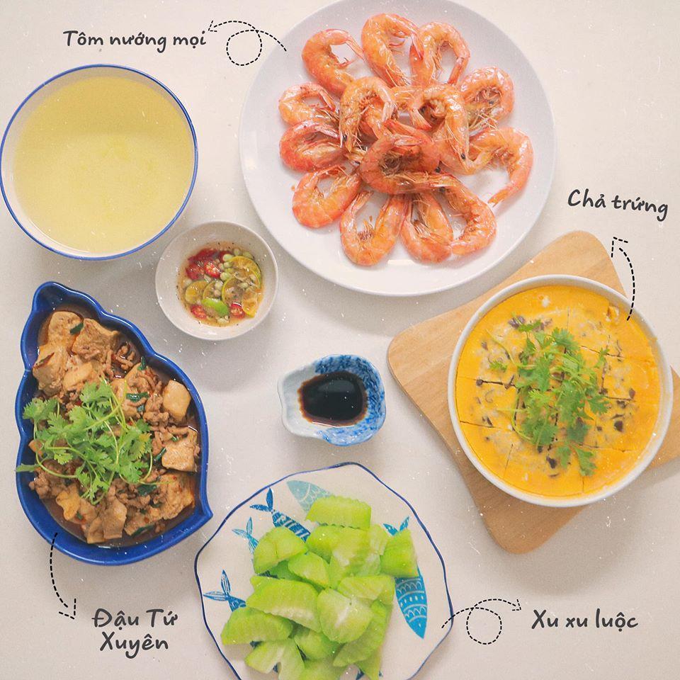 Mâm cơm mùa hè ăn mát ruột mát gan của 8X Hà Nội-8