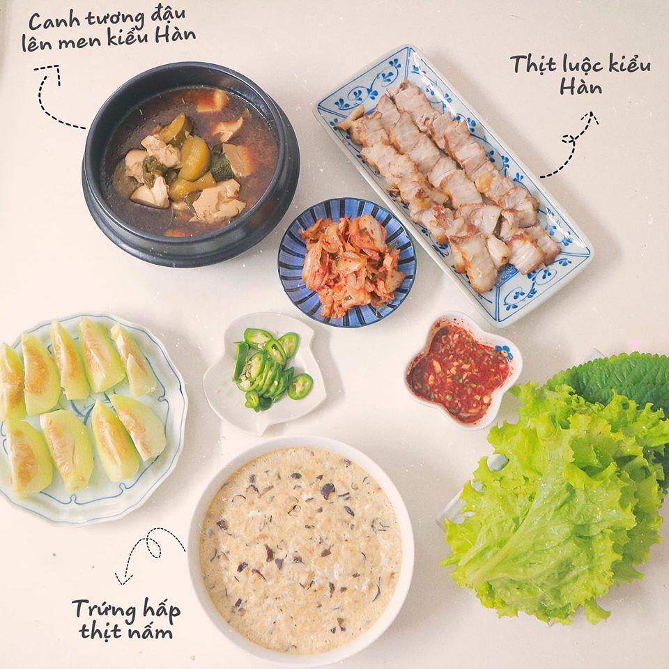 Mâm cơm mùa hè ăn mát ruột mát gan của 8X Hà Nội-9