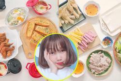 Mâm cơm mùa hè ăn 'mát ruột mát gan' của 8X Hà Nội