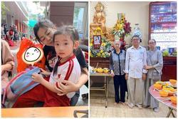 Con gái Mai Phương đã chuyển về ở với bố mẹ Phùng Ngọc Huy, thay đổi hẳn sau 2 tháng
