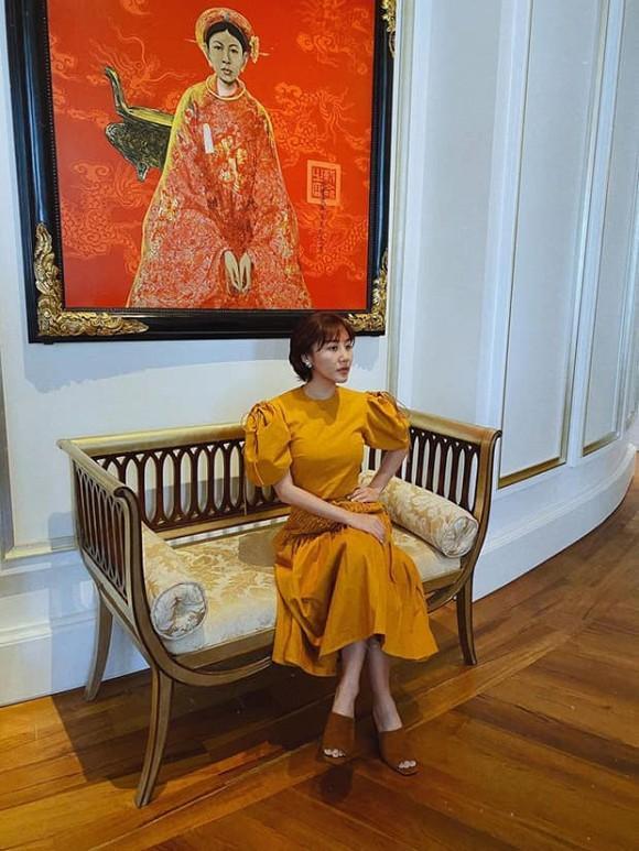 Văn Mai Hương gây tranh cãi vì gu thời trang tại Người ấy là ai-8