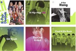 Playlists nhạc Hàn của riêng bạn từ Spotify