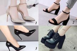 Chọn đôi giày thích nhất để biết sự nghiệp của bạn thuận lợi hay khó khăn