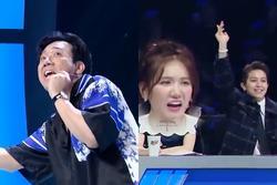 Trấn Thành thể hiện khả năng rap, Hari Won đứng hình vì không hiểu chồng hát gì