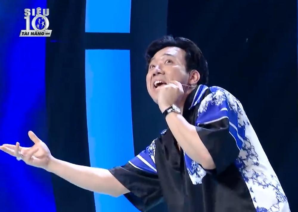 Trấn Thành thể hiện khả năng rap, Hari Won đứng hình vì không hiểu chồng hát gì-4