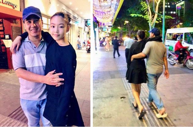 Chiều con như Quyền Linh, chịu mặc váy, kẹp tóc mái nhảy cùng con gái cực xinh-9