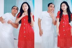 Chiều con như Quyền Linh, chịu mặc váy, kẹp tóc mái nhảy cùng con gái cực xinh