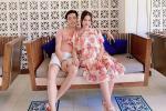 Vợ nhạc sĩ Dương Khắc Linh phá nét khi mang bầu, hơn 5 tháng mà tưởng chừng sắp đẻ