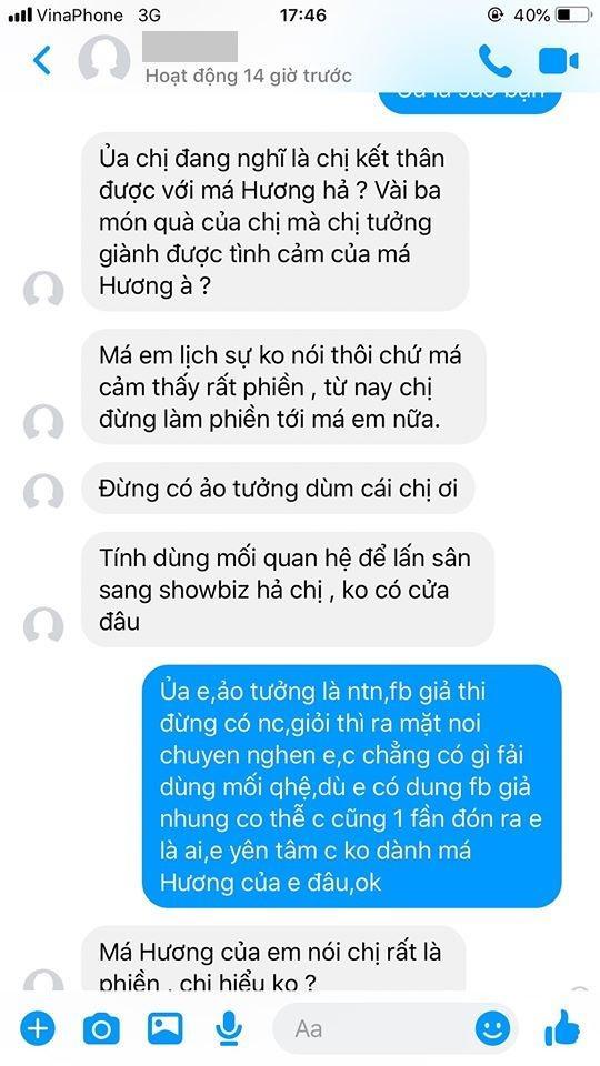 Việt Hương mắng kẻ xấu giả mạo fan: Thứ không có giáo dục-4