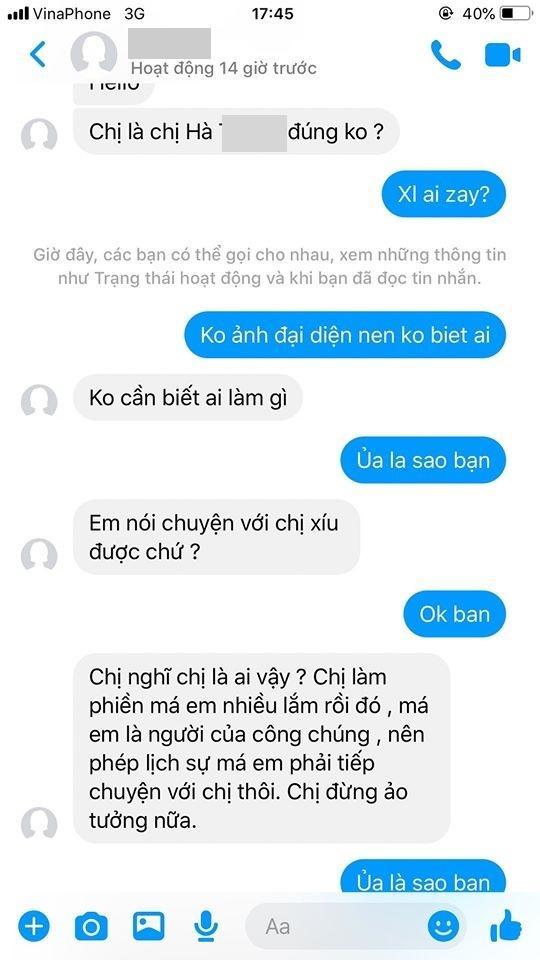 Việt Hương mắng kẻ xấu giả mạo fan: Thứ không có giáo dục-5