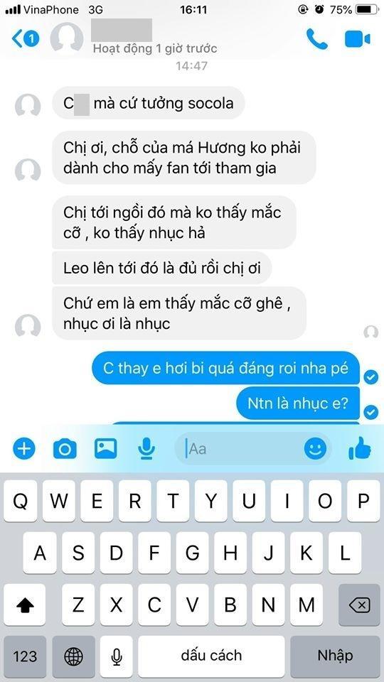 Việt Hương mắng kẻ xấu giả mạo fan: Thứ không có giáo dục-6