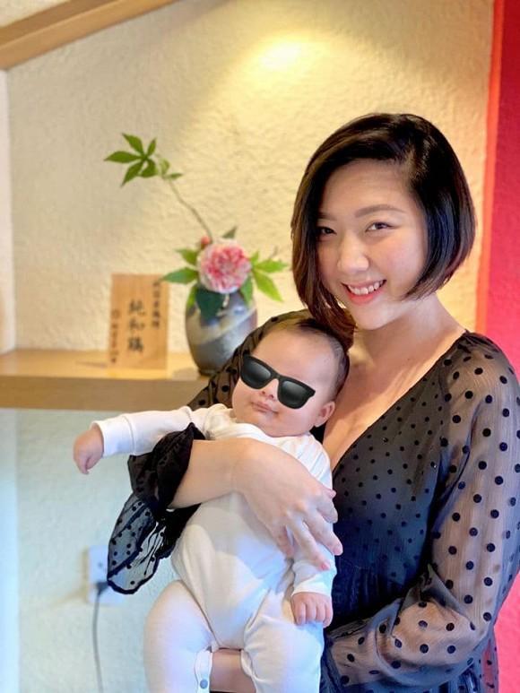 Em gái Trấn Thành lộ vòng 2 ngấn mỡ sau 4 tháng sinh con đầu lòng cho chồng ngoại quốc-5