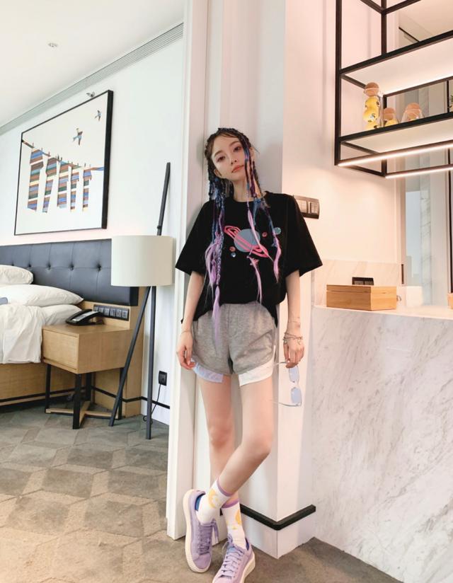 Lý Tiểu Lộ bị chỉ trích làm lố tuổi U40, vẻ ngoài giống hệt hotgirl mạng-9