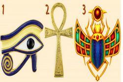 Hãy chọn một biểu tượng Ai Cập cổ đại để nhận lời khuyên của nhà thông thái