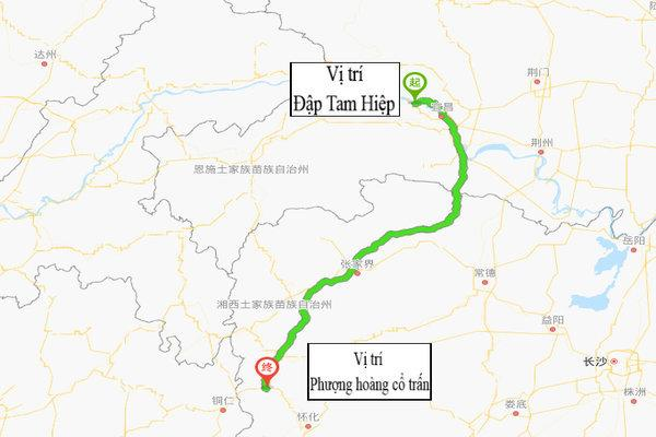Trung Quốc bác tin đập Tam Hiệp xả lũ khiến Phượng Hoàng cổ trấn ngập lụt-1