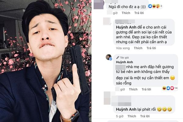 Huỳnh Anh mắng fan đồ sáo rỗng chỉ vì khuyên anh ngủ sớm giữ sức khỏe-1